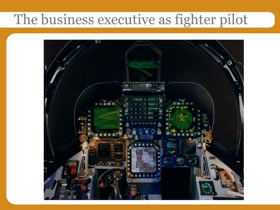 The business executive as fighter pilot