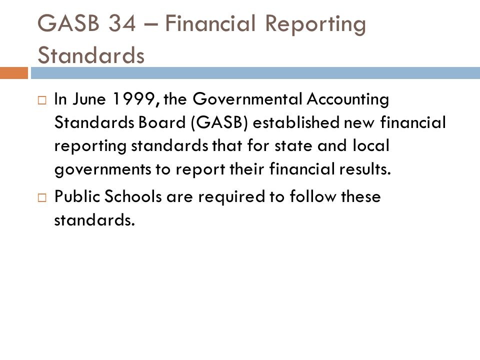 Overview of the Financial Statements This report consists of three parts Managements Discussion & Analysis Basic Financial Statements Government-wide financial statements which provide long and short term information about the schools overall financial status Fund financial statements that focus on individual parts of the school district operations in more detail Required Supplementary Information & Notes