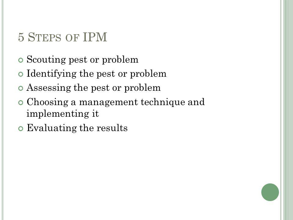 R EFERENCES (2012, May 9).Integrated Pest Management (IPM) Principles.