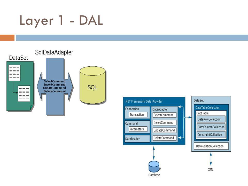 Layer 1 - DAL