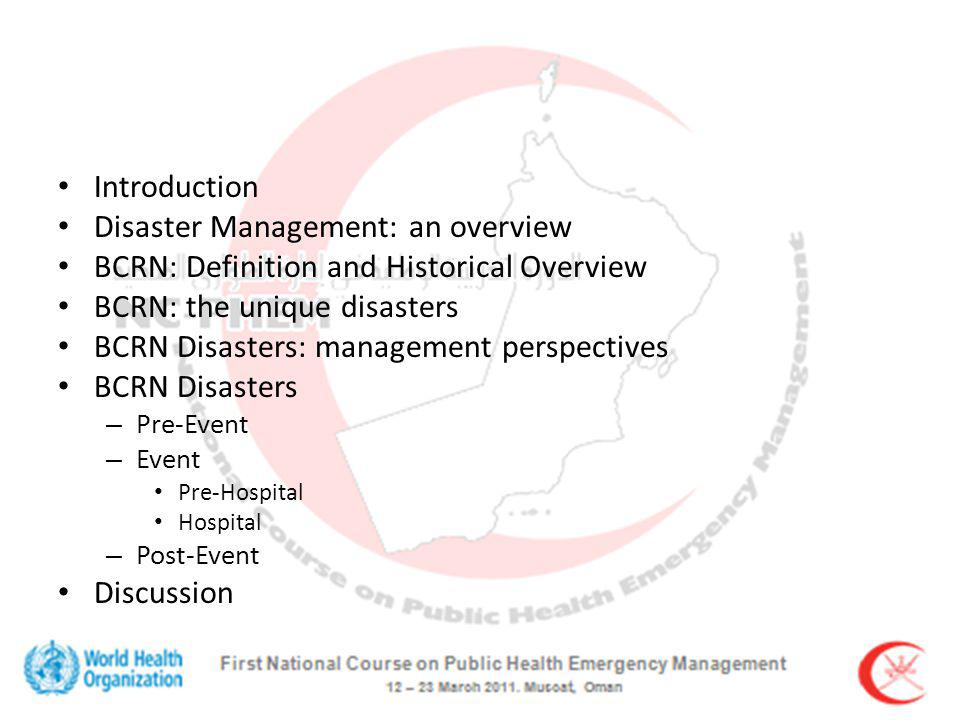 Pre-Hospital: Capacity EMS and supporting services PPE for first responders On-site incident management system Mass casualty/ fatality management Preparing hospitals for surge