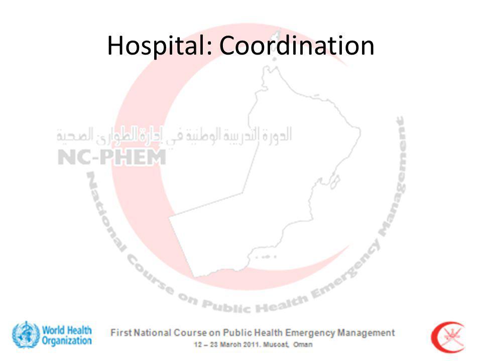 Hospital: Coordination