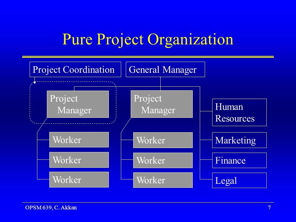 OPSM 639, C. Akkan18 Evaluating Functional Organization