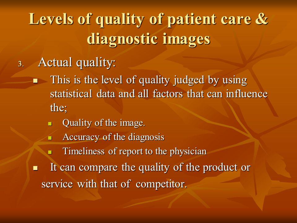 Quality assurance (QA) .