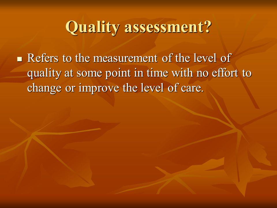 Quality Control (QC).