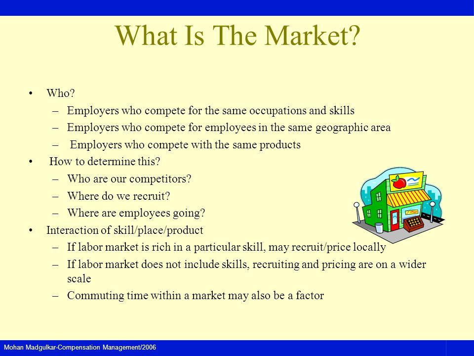 Mohan Madgulkar-Compensation Management/2006 What Is The Market.