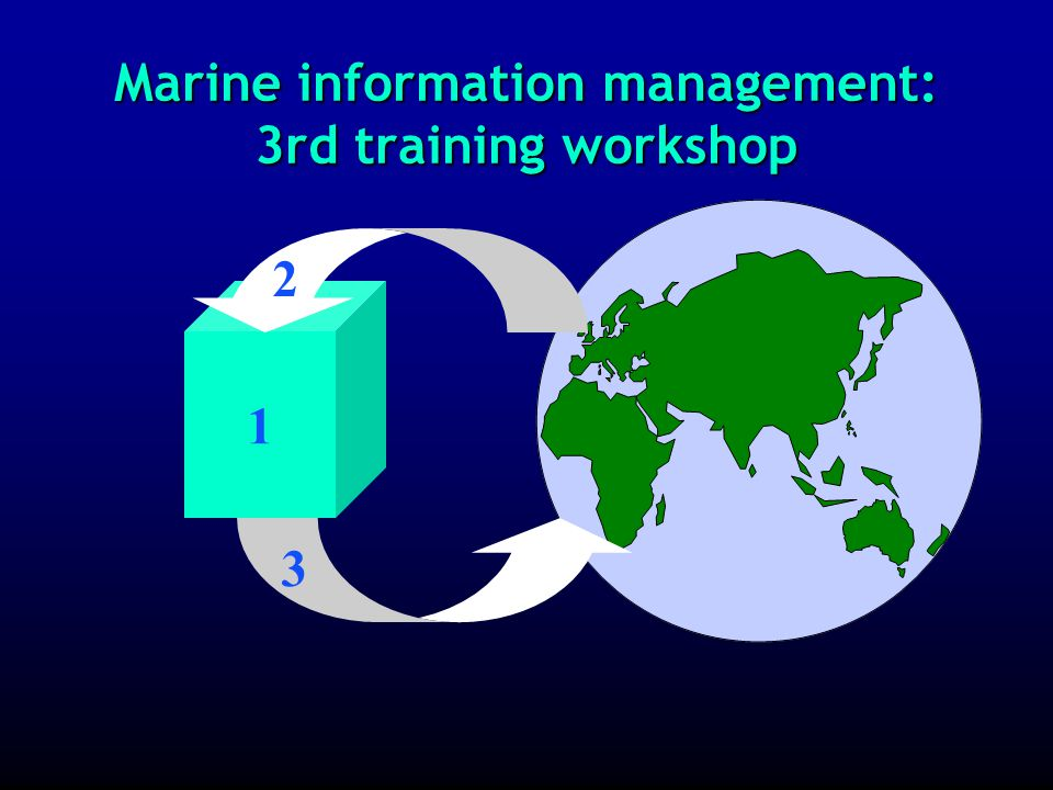 Marine information management: evaluations of progress made Before the 3 rd training workshop, progress should be evaluated in the areas ofBefore the 3 rd training workshop, progress should be evaluated in the areas of »production of local library catalogue »contribution to the ODINAFRICA union catalogue on the WWW »skills related to searching for information (information retrieval) »document requests + document delivery »… Before the 3 rd training workshop, progress should be evaluated in the areas ofBefore the 3 rd training workshop, progress should be evaluated in the areas of »production of local library catalogue »contribution to the ODINAFRICA union catalogue on the WWW »skills related to searching for information (information retrieval) »document requests + document delivery »…