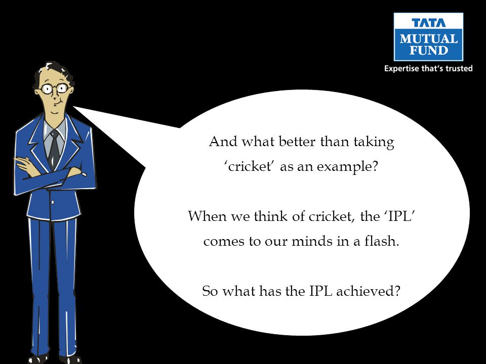 And what better than taking cricket as an example.
