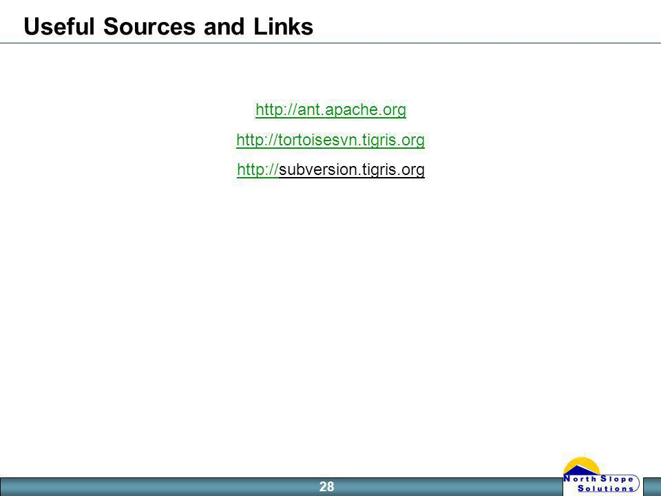 28 Useful Sources and Links