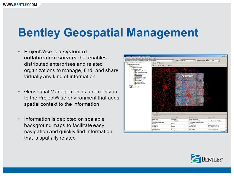 Federated Information Management Project: Geospatial Index to E&P Information Total E&P Nederland B.V.