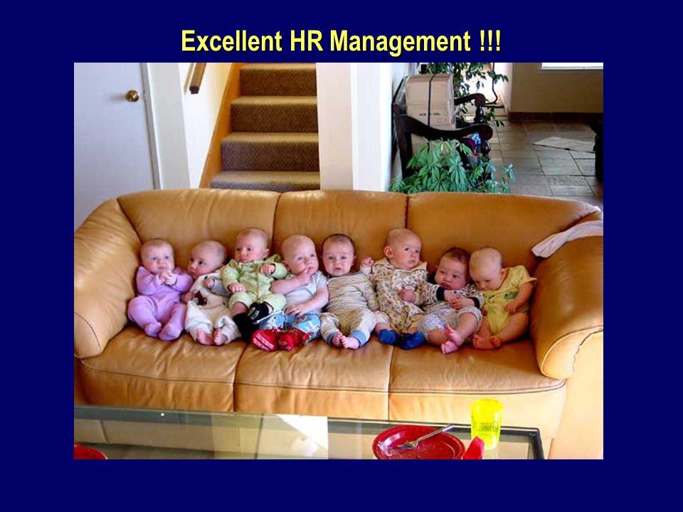 Excellent HR Management !!!