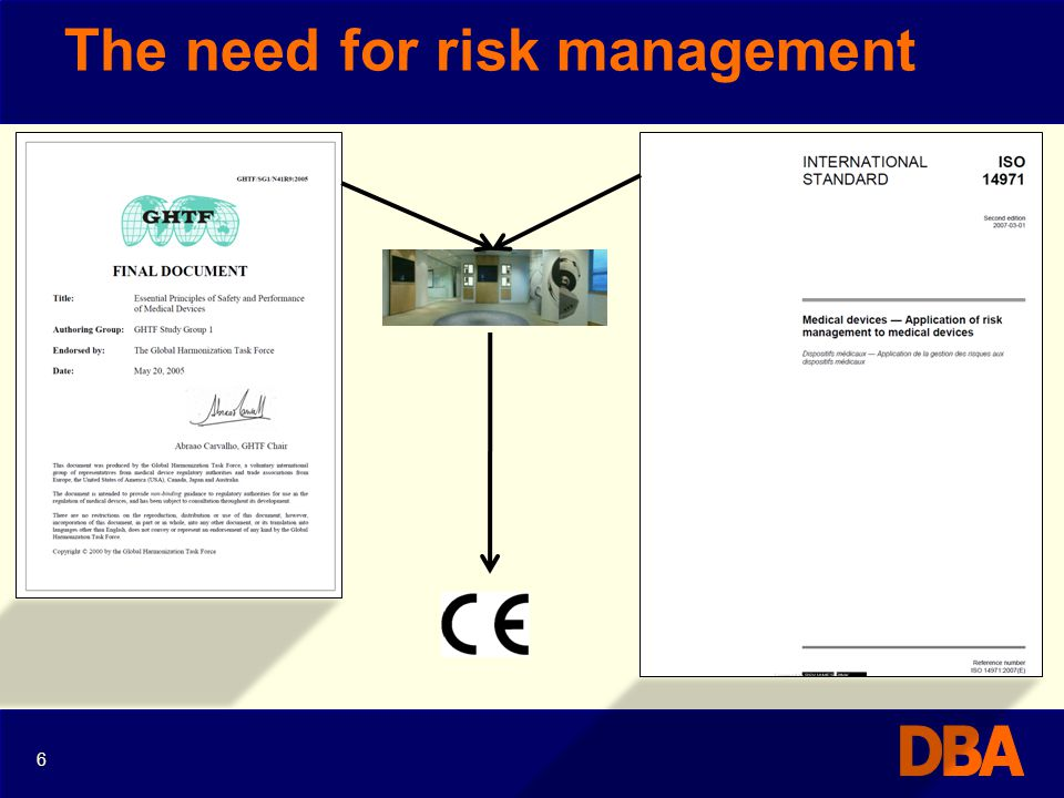 Risk controls – risk benefit ISO14971:2007 requirements 47