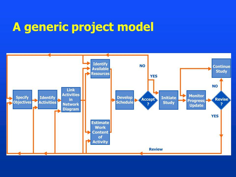 A generic project model