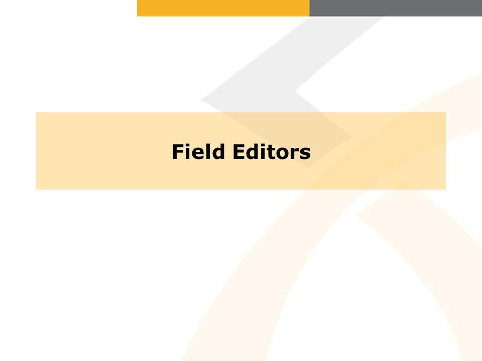Field Editors