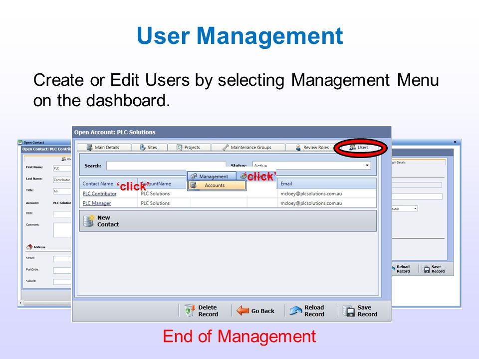 Data Management - Batch The utility to export metadata from the system is available to both system contributors and managers. Contributors only have l