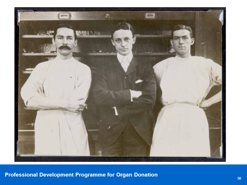 Professional Development Programme for Organ Donation 50