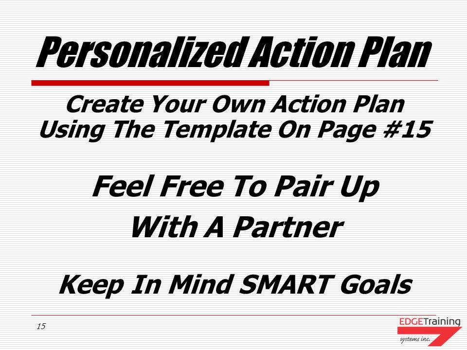 14 Sample Action Plan
