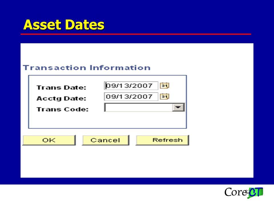 22 Asset Dates