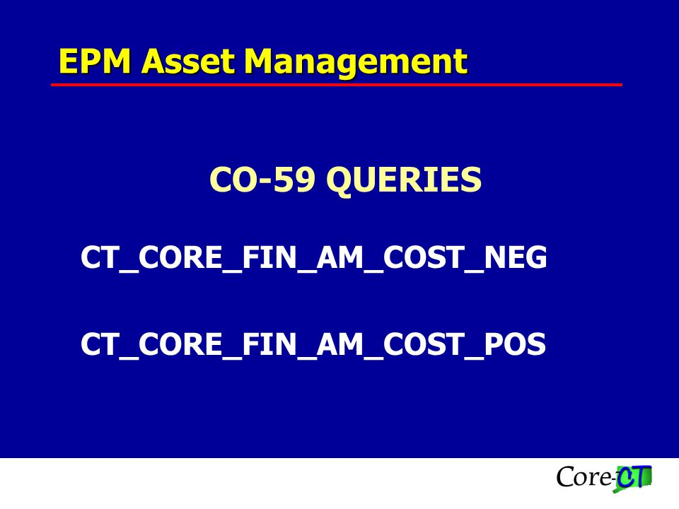 18 Asset Dates Asset Transaction Date In-Service Date Invoice Date Acquisition Date Placement Date