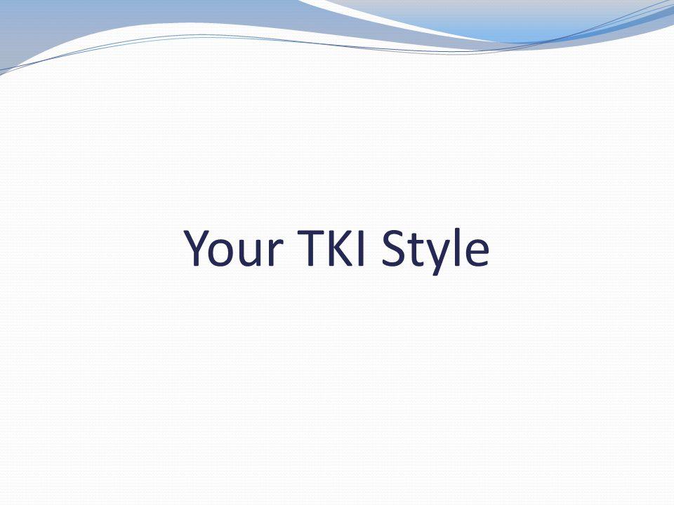 Your TKI Style
