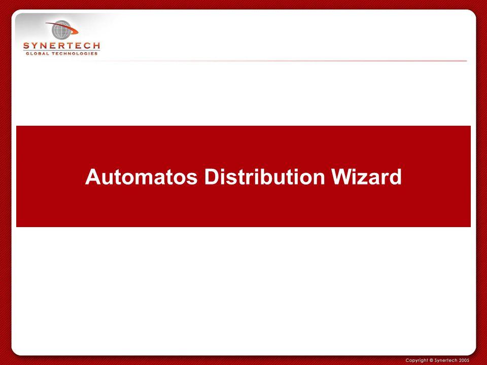 Automatos Distribution Wizard