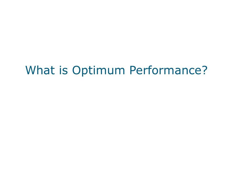 What is Optimum Performance