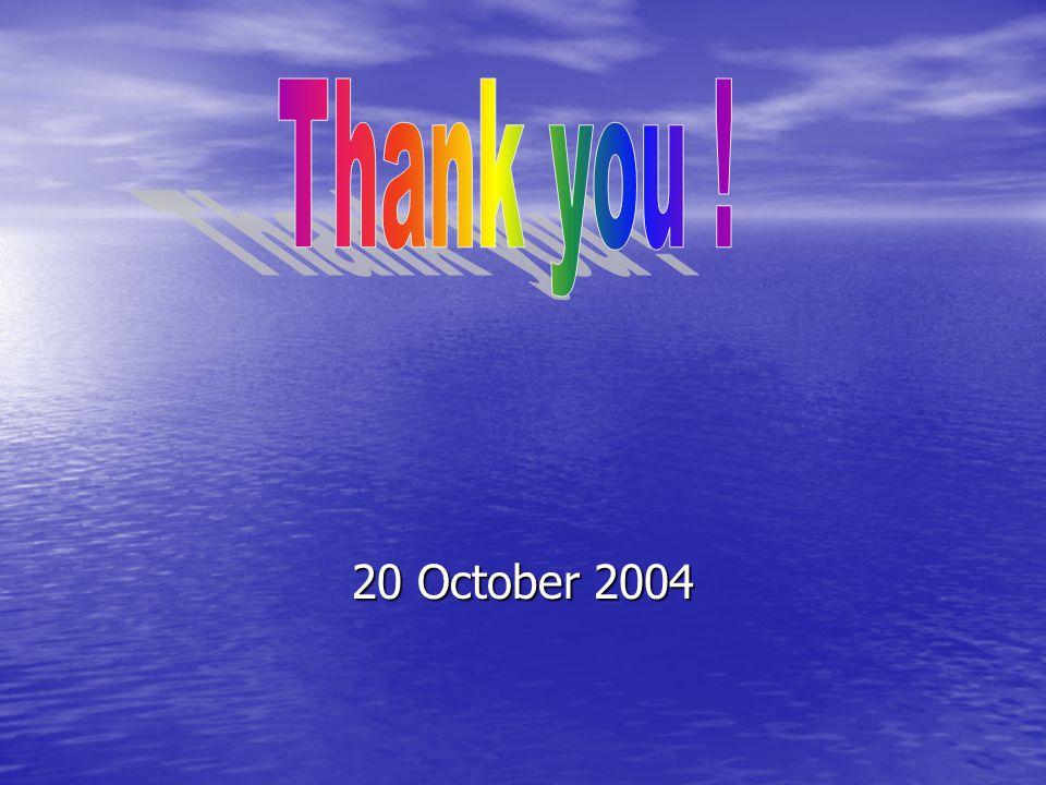 20 October 2004