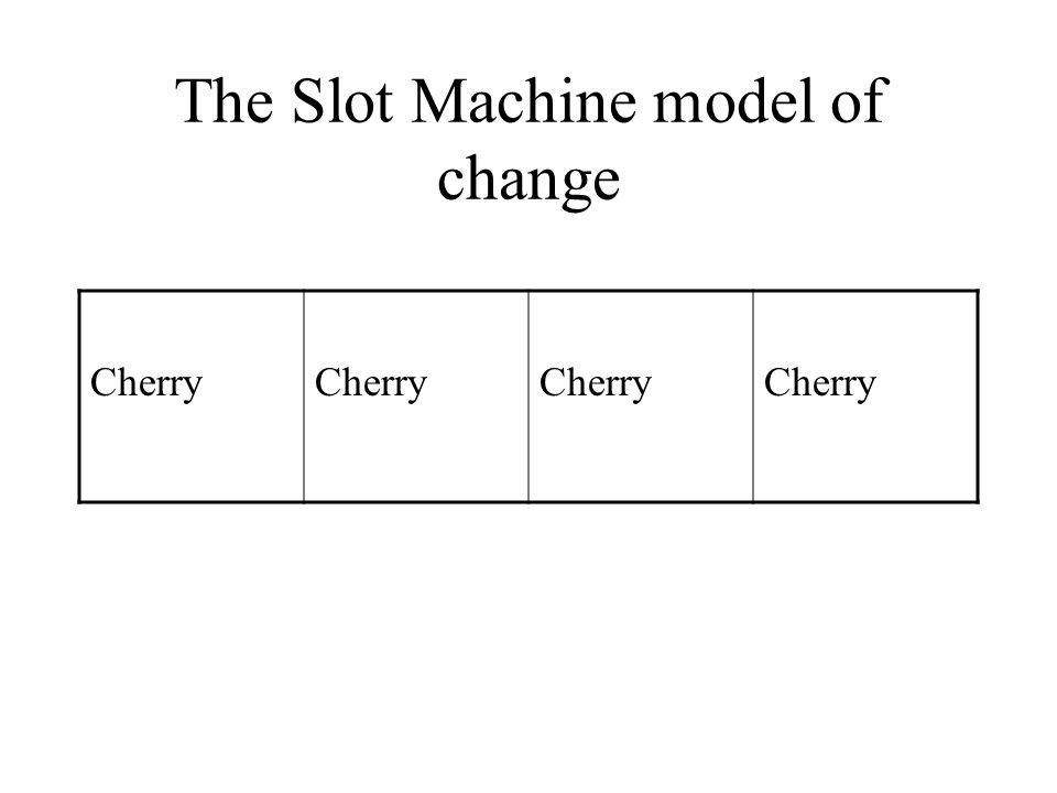 The Slot Machine model of change Cherry