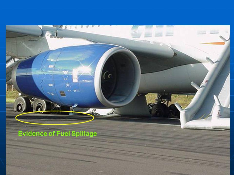 11 Evidence of Fuel Spillage