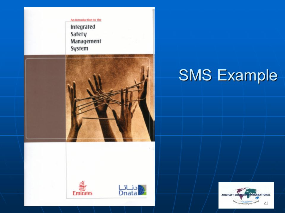 21 SMS Example