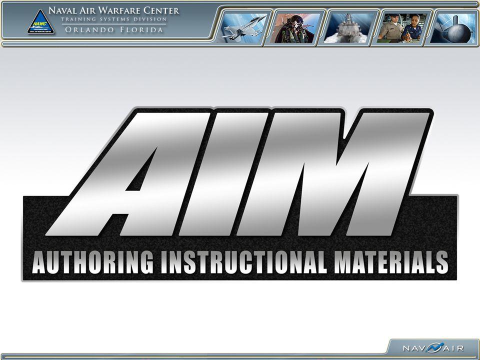 Jake Aplanalp AIM/CPM Program Manager NAWCTSD Orlando 407.380.4685 Jacob.Aplanalp@Navy.mil December 2008