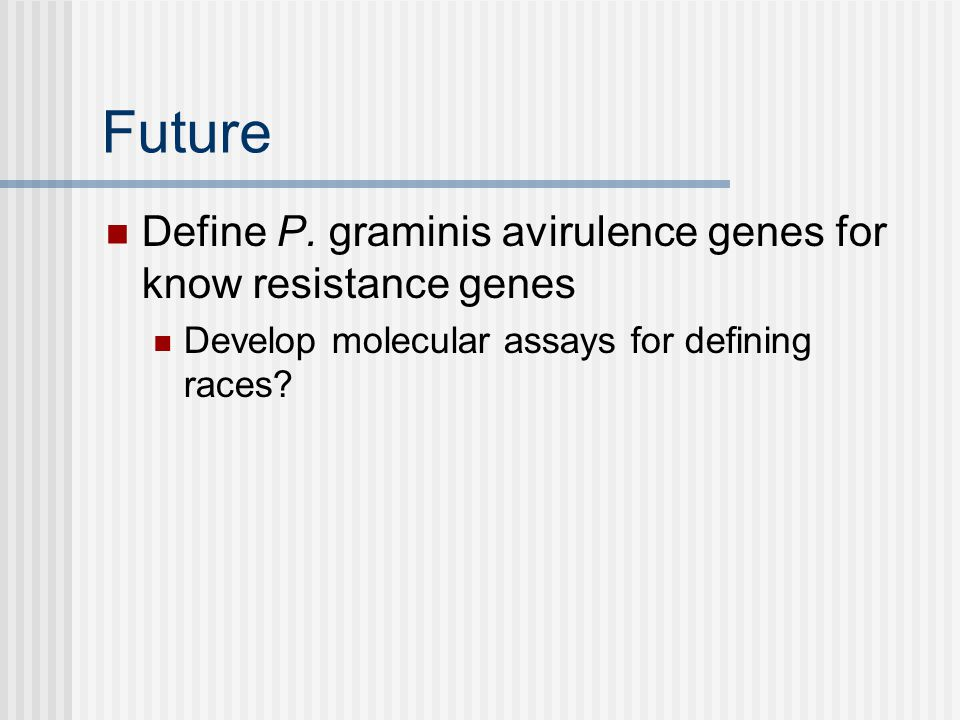 Future Define P.