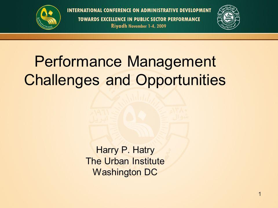 2 Agenda Performance measurement Transformation to Performance Management