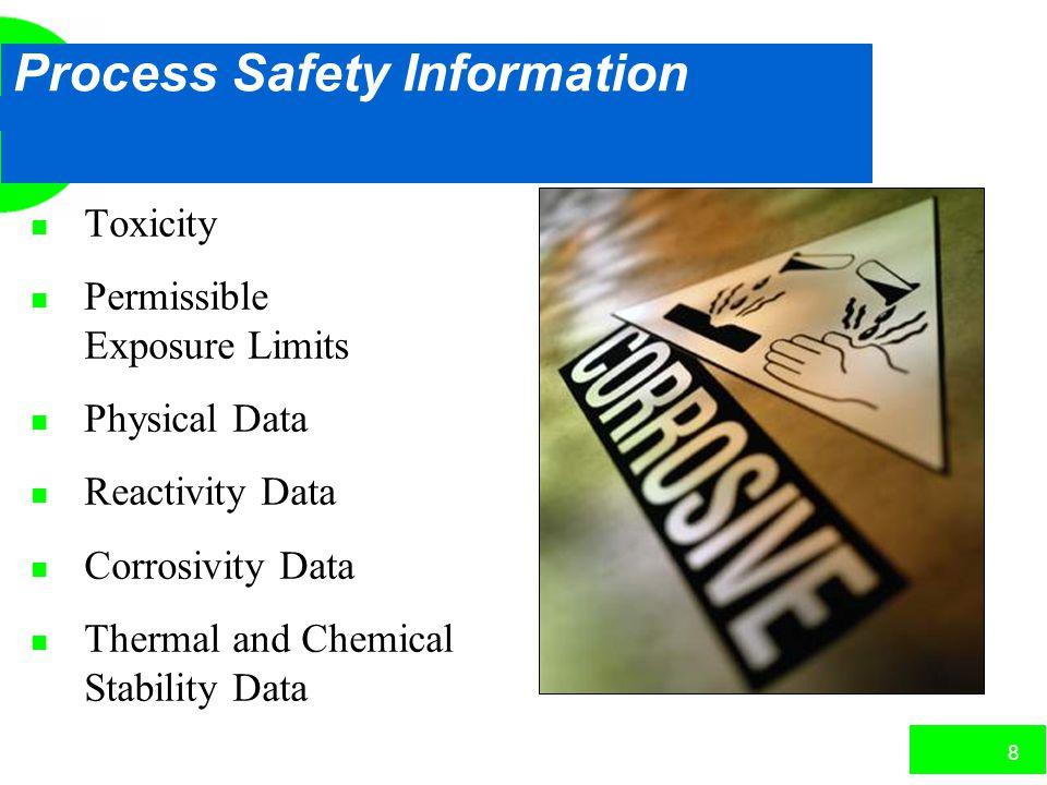 7 Initial Process Hazard Analysis Deadlines n 25% complete by May 26, 1994 n 50% complete by May 26, 1995 n 75% complete by May 26, 1996 n 100% comple