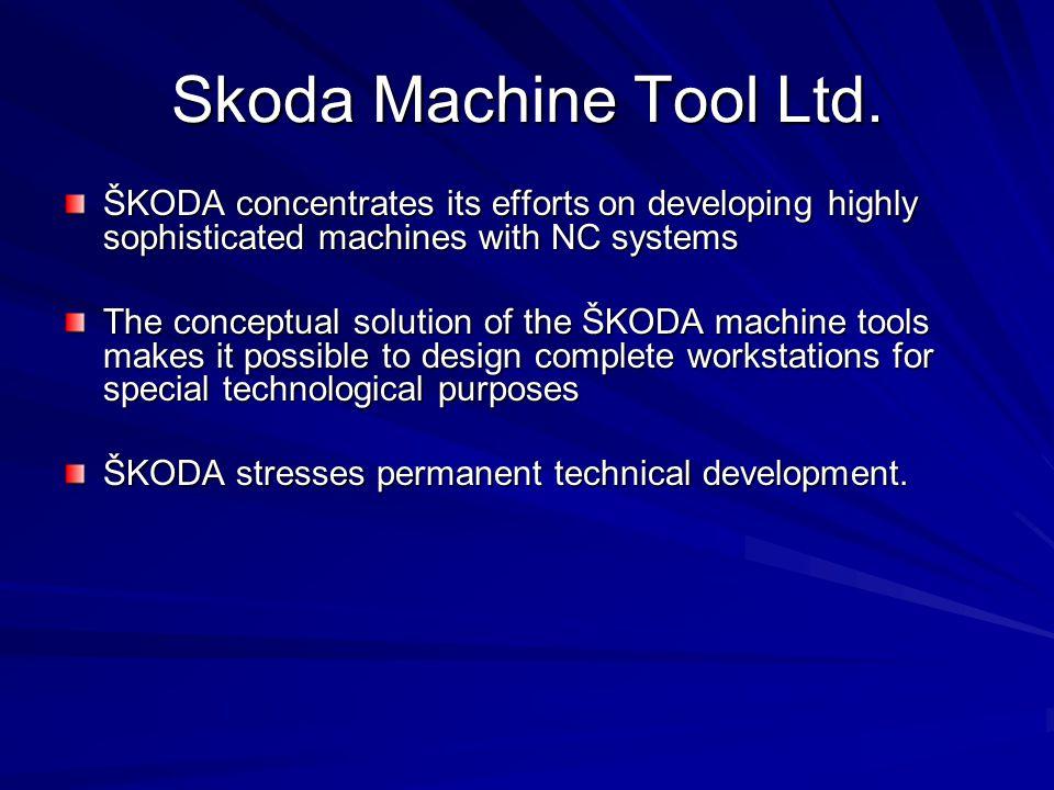Skoda Machine Tool Ltd.
