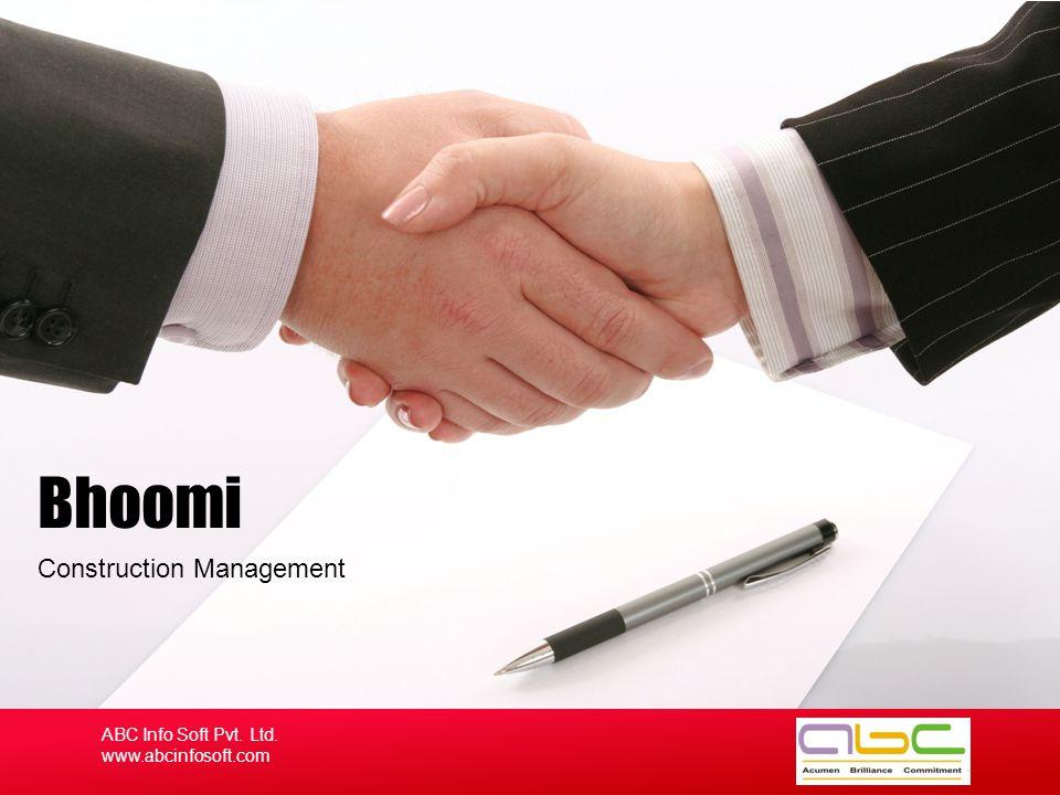 ABC Info Soft Pvt.Ltd. Company Profile A A Acumen CC Commitment Brilliance B ABC Info Soft Pvt.