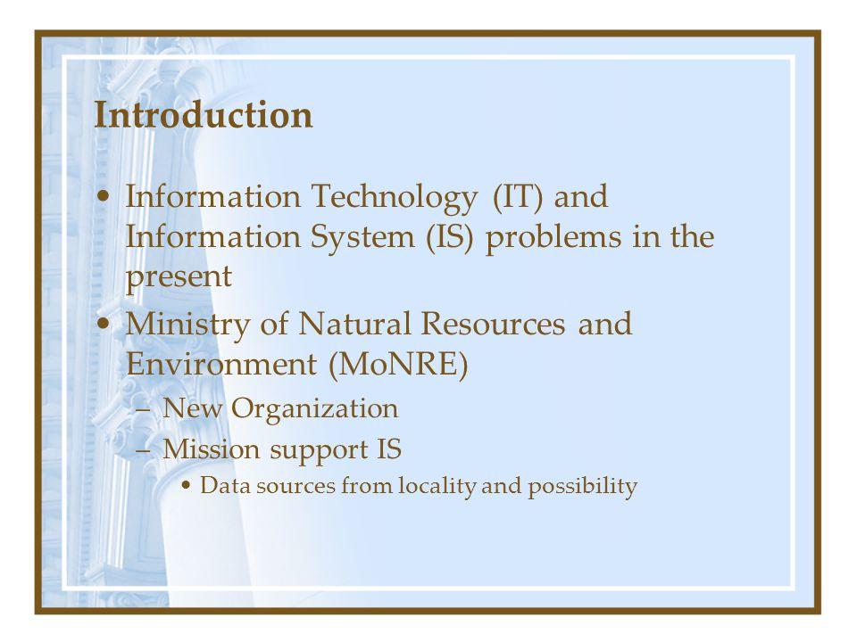 Methodologies (cont.) New MoNRE work Flow