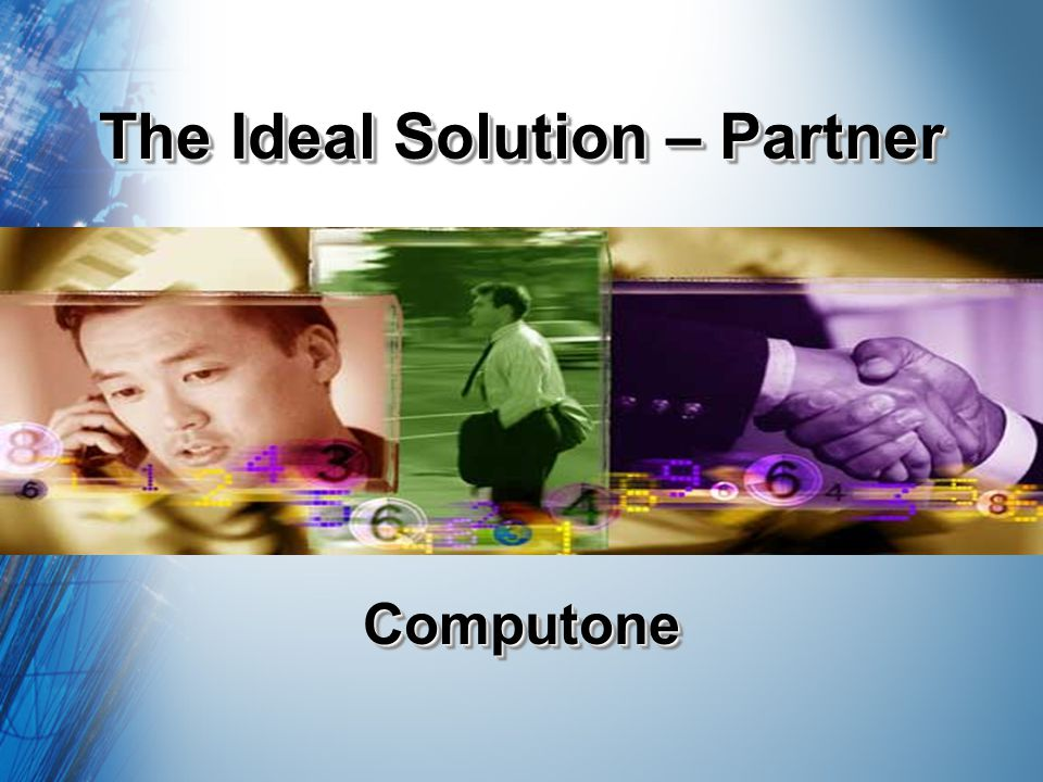 The Ideal Solution – Partner ComputoneComputone