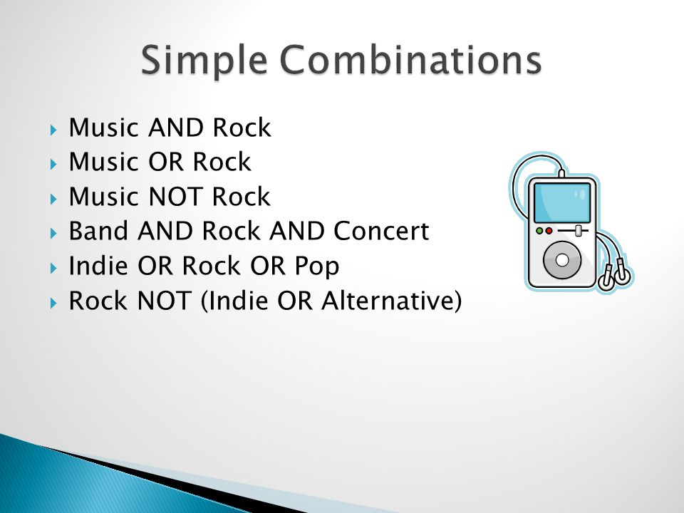 Music AND Rock Music OR Rock Music NOT Rock Band AND Rock AND Concert Indie OR Rock OR Pop Rock NOT (Indie OR Alternative)