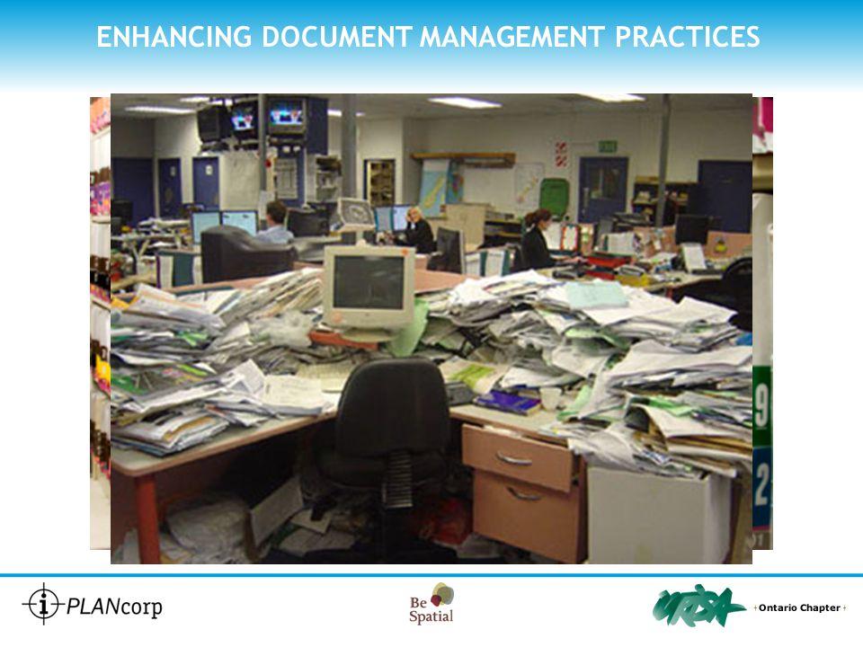 ENHANCING DOCUMENT MANAGEMENT PRACTICES