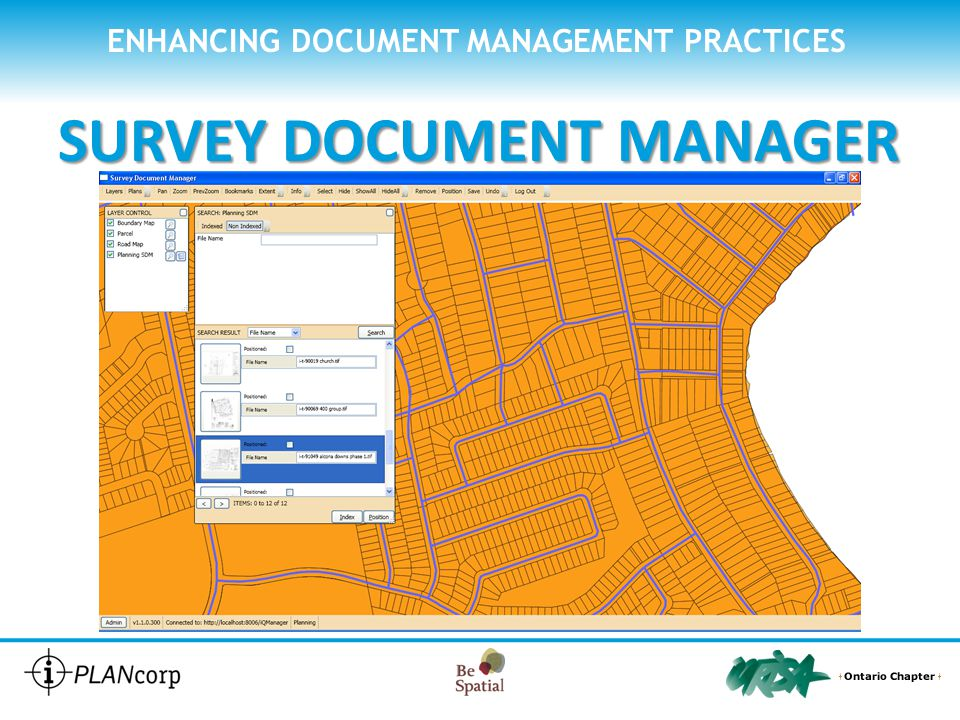 ENHANCING DOCUMENT MANAGEMENT PRACTICES SURVEY DOCUMENT MANAGER ENTER metadata for the document