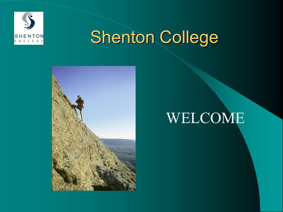 Shenton College WELCOME