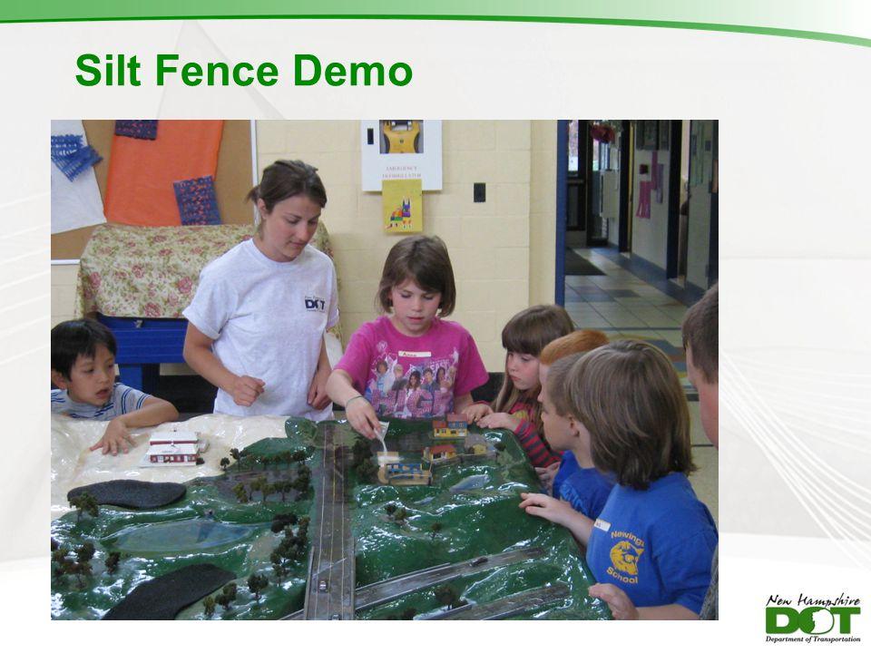 Silt Fence Demo