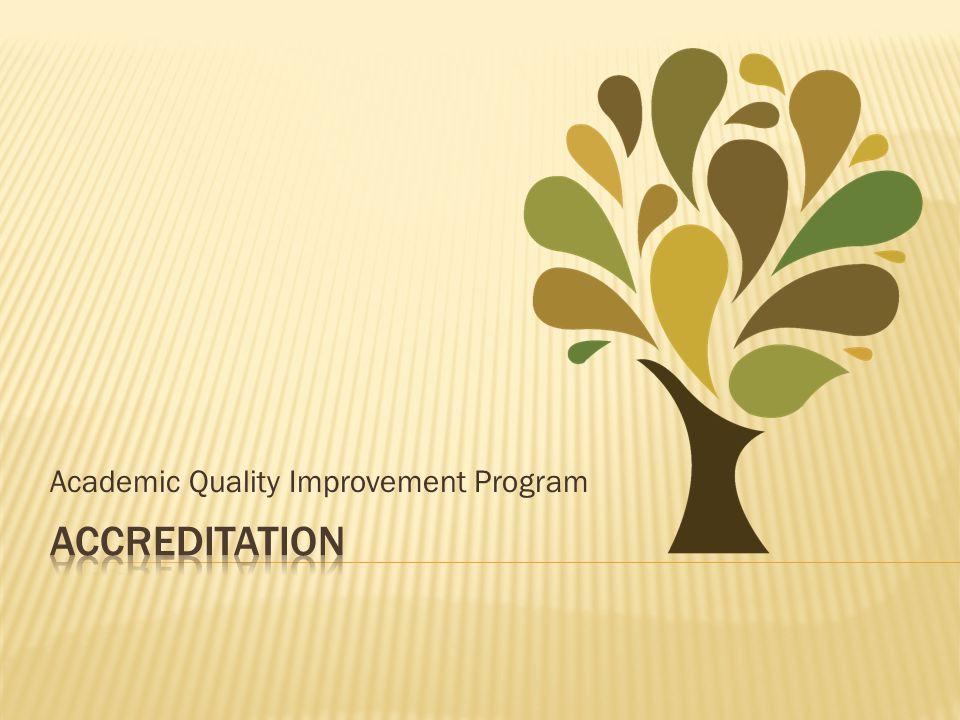 Academic Quality Improvement Program