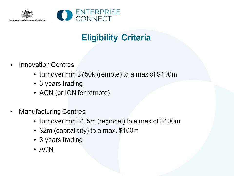 Remote Enterprise Centre Coverage Map