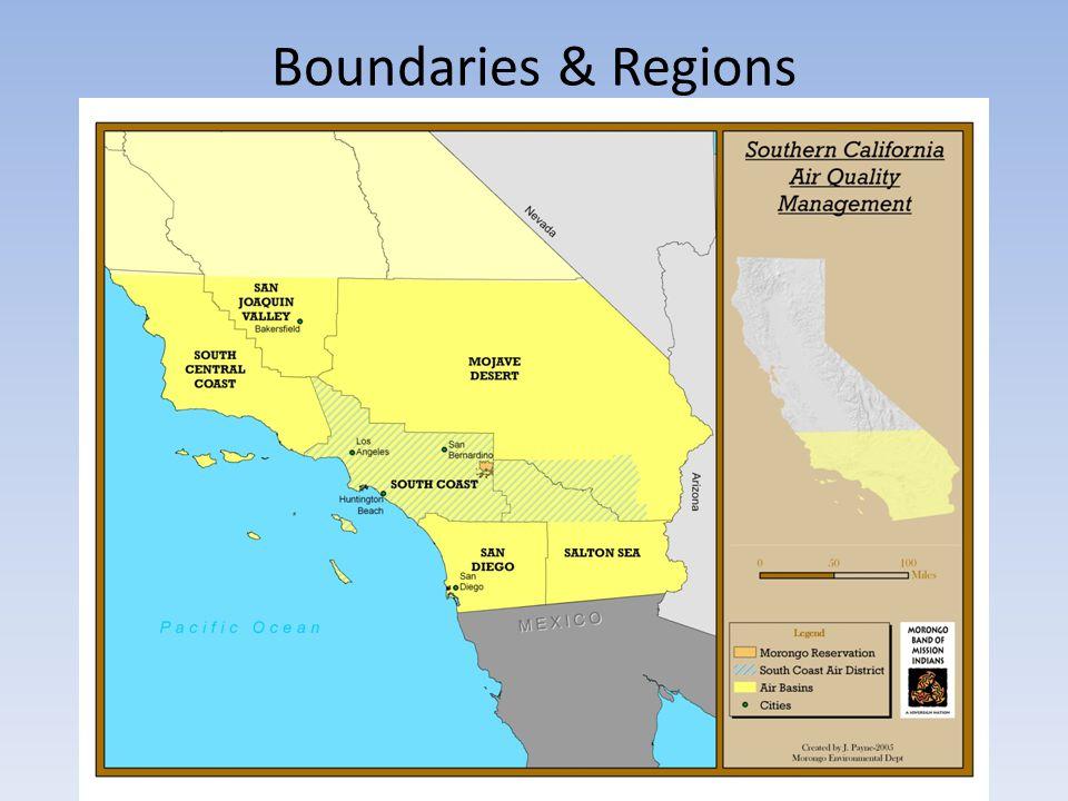 Boundaries & Regions