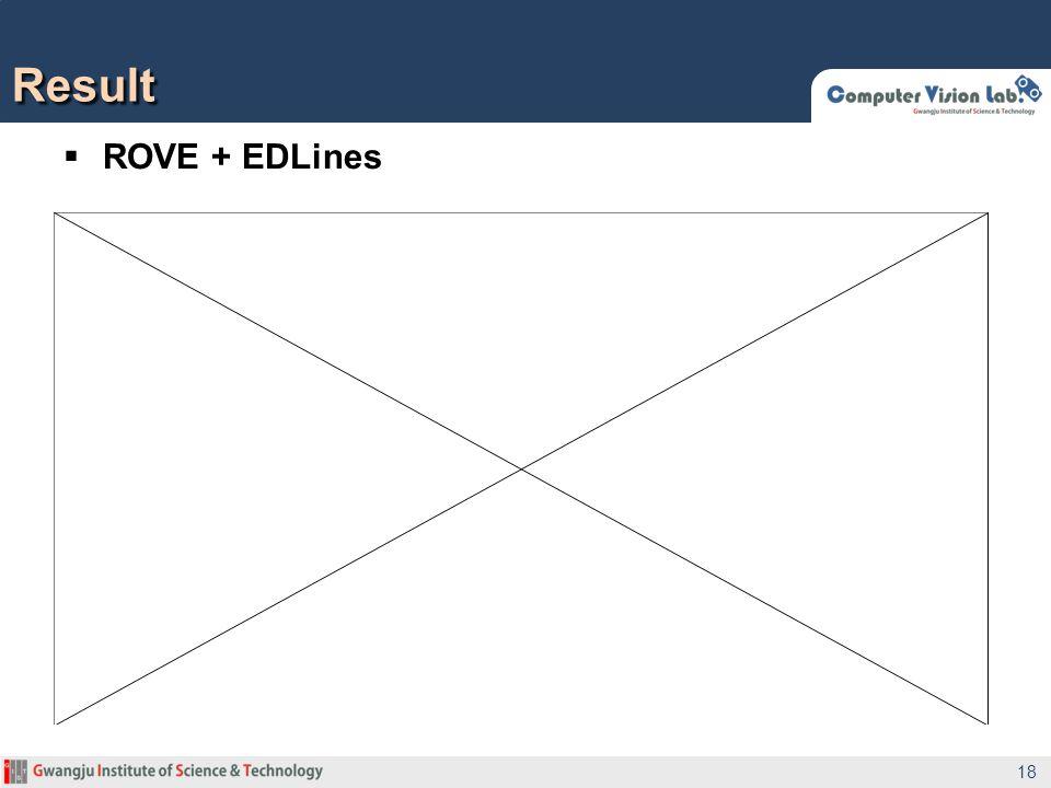 ROVE + EDLines Result 18