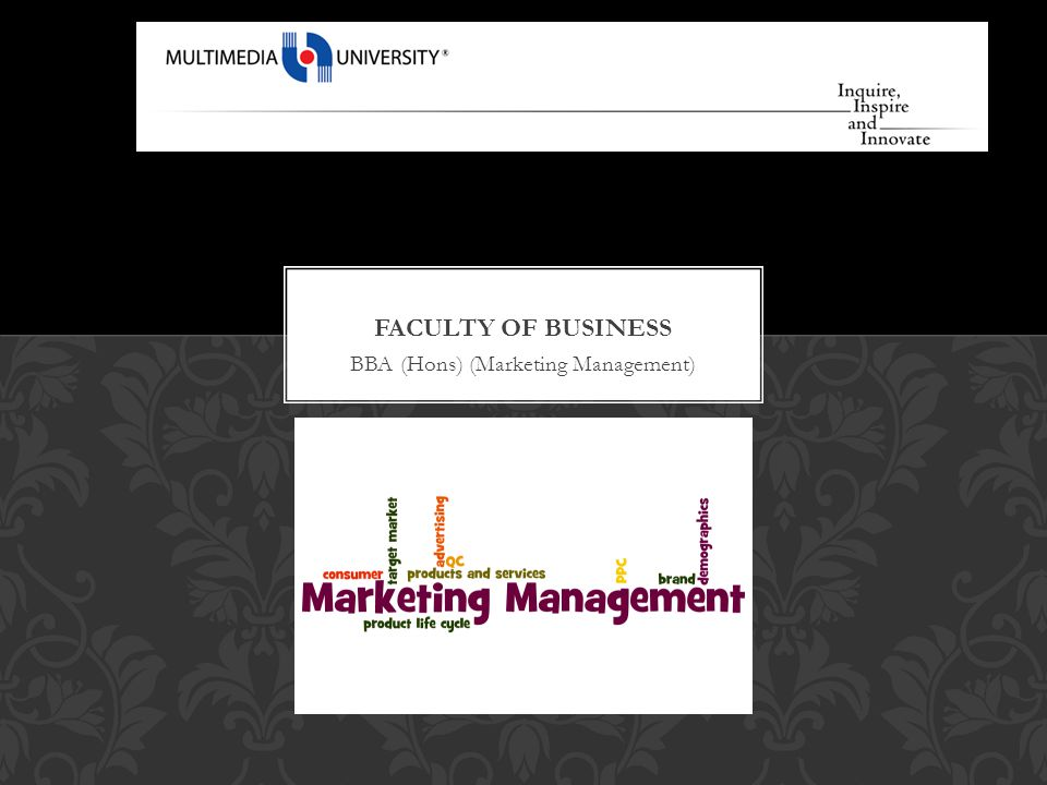 BBA (Hons) (Marketing Management)