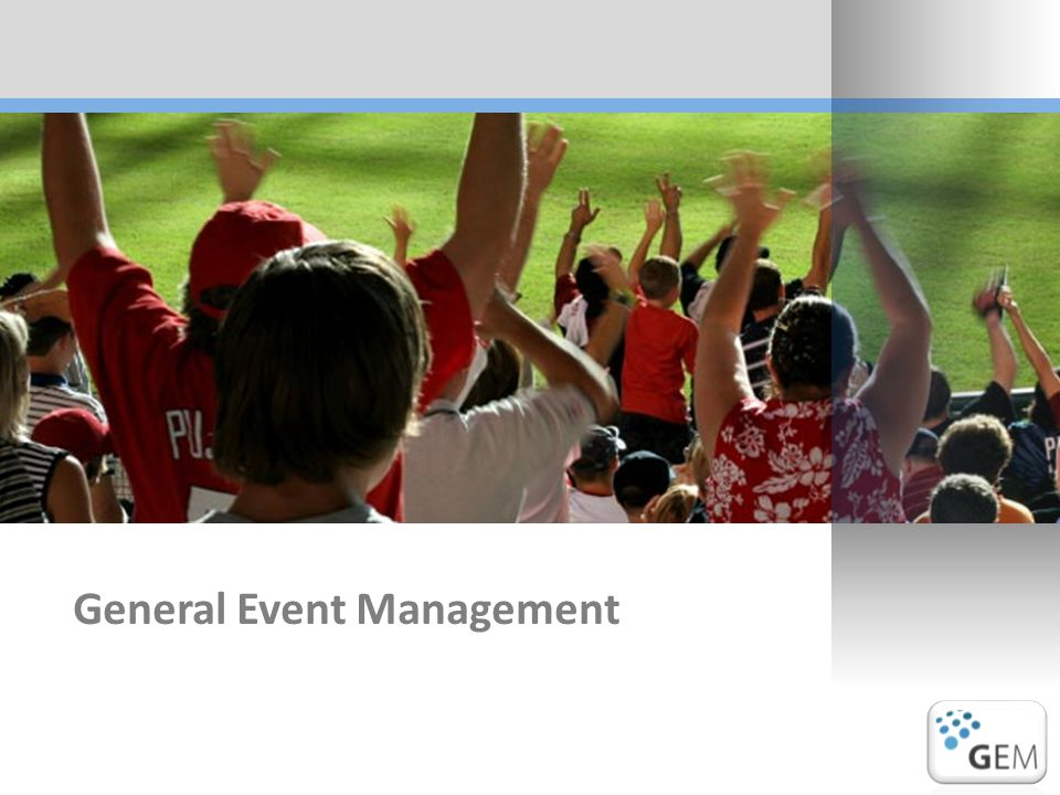 General Event Management
