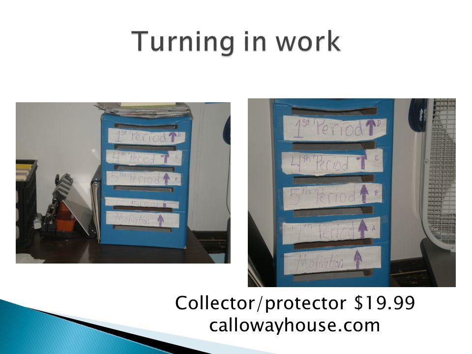 Collector/protector $19.99 callowayhouse.com